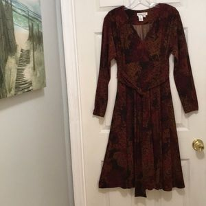 """Lovely Coldwater Creek Midi Dress! 10. Bust 40"""""""